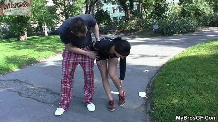 Un polvo con la chica del parque - foto 1