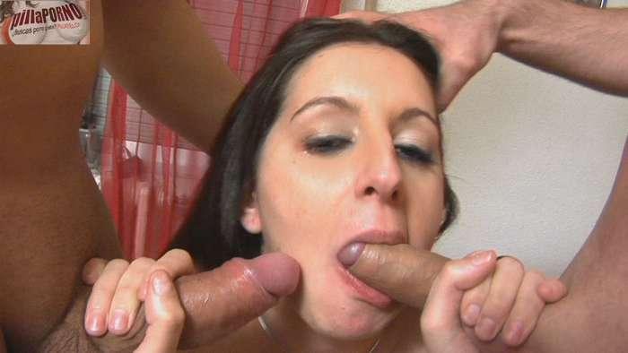 Sonia: virgen de culo en su 1ª doble penetración - foto 5