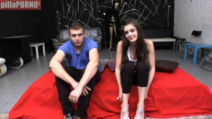 Jose y Andrea, adolescentes grabando porno - foto 1