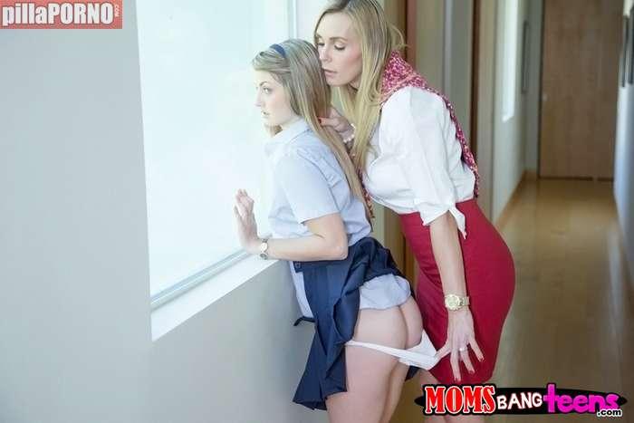 Tocamientos a mi hija antes de llevarla al colegio - foto 5