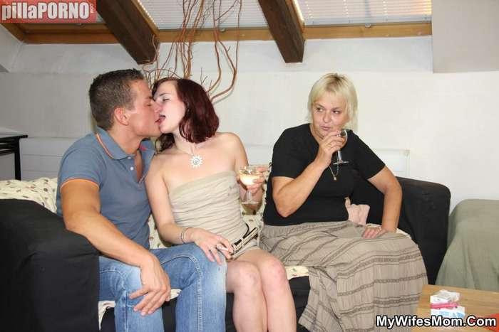 Emborracha a su hija y al novio para follarselos - foto 1
