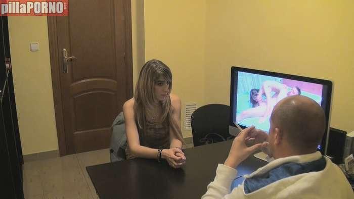 Paula, una joven madrileña en un casting porno - foto 1