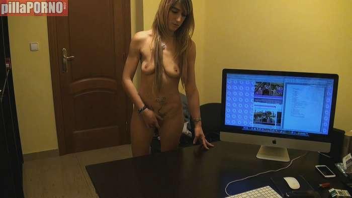 Paula, una joven madrileña en un casting porno - foto 2