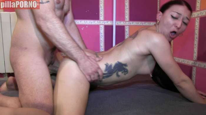 Rumana de origen gitano grabando porno - foto 5