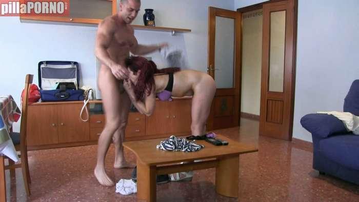 Ama de casa grabando porno casero - foto 5