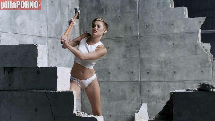 Miley Cyrus, otra vez muy excitante ... - foto 9
