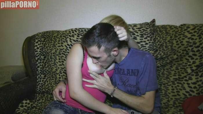 Incesto español, su primer video porno - foto 1