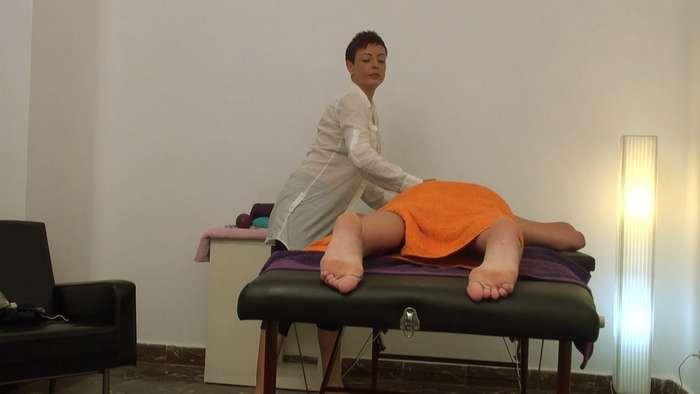 Camara oculta en una sala de masajes de Madrid - foto 2