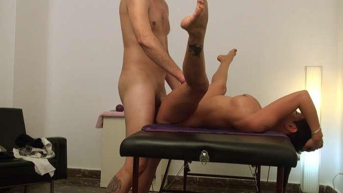 cámara web sala de masaje mamada