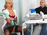 Sexo en la consulta con la dentista