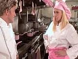 Sexo con la ayudante de cocina