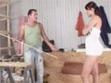 Ama de casa follandose al carpintero