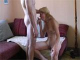 Sexo casero con una amateur francesa