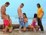 Una entretenida tarde de sexo en la playa