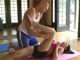 Un polvo en la clase de yoga