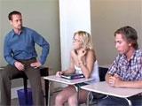 Porno en clase antes del examen de recuperación