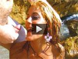 Porno duro en una cala privada de Ibiza