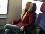 Sexo en el vagon del tren