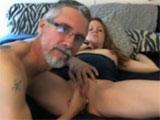Tio y sobrina ante la webcam porno