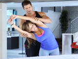 Ayudo a mi hermana con sus ejercicios