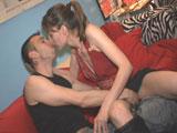 Rosa y Manu, fiesteros madrileños porno adictos