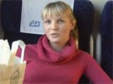 Porno real en un vagon de tren