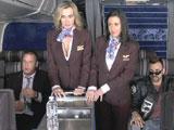 El morbo de liarte con una azafata de avión