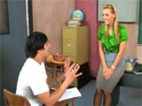 La profesora y el repetidor