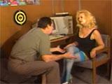 Porno en el sex shop