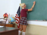 Porno en clase con mi alumna favorita