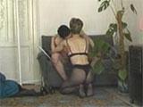 Matrimonio amateur echando un polvo