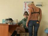 Revision medica en el cuartel