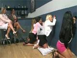 Fiesta en un club solo para mujeres