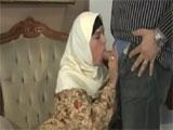 Mujer arabe musulman follando