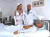 La enfermera mas golfa de todo el hospital