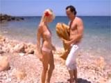 Se liga a una alemana en una playa de Ibiza