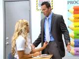 Soy tú profesor, no puedes tocarme la polla
