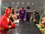 Orgia entre super heroes