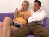 Padre e hija en un casting porno
