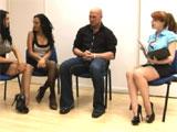 Porno en la salita de espera