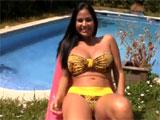 Video porno con chica latina