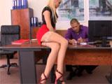 Porno en el despacho de mi jefe