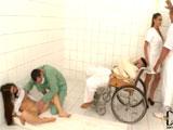 Abusan de los internados del manicomio