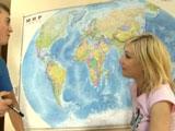 Lección de geografía con mi prima