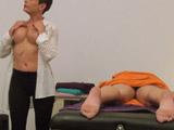 Camara oculta en una sala de masajes de Madrid