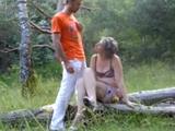 Un polvo con mi cuñado en el campo