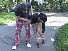 Un polvo con la chica del parque