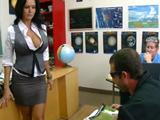 Joder con la profesora, menudo polvo tiene