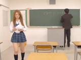 La alumna y el profesor acaban haciendo guarradas