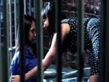 Abogada y clienta follando en prisión